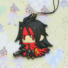 Final Fantasy VII FF7 Vincent Valentine Figure Strap Cell Phone Chain Charm