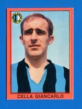 CALCIATORI Mira 1967-68 - Figurina-Sticker - CELLA - ATALANTA -Rec