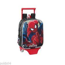 Marvel Ultimate Spider-Man cartable à roulettes trolley S sac à dos crèche 07176