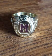 Molson Canadian stanley cup Montreal Maroons 1935 Championship Ring.