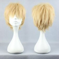 New Cheap DRAMAtical Murder DMMd Noiz Short Blonde Synthetic Cosplay Full Wig