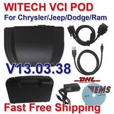 WITECH VCI POD Diagnostic Tool For Chrysler V13.03.38 Support Multi-Languages