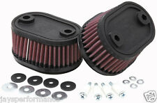 KN AIR FILTER (KA-7586) FOR KAWASAKI VN750 VULCAN 1986 - 2006