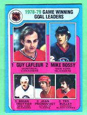 GEM MINT/SHARP! 1979/80 TOPPS HOCKEY-LAFLEUR BOSSY TROTTIER PRONOVOST BULLEY #7