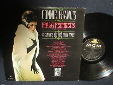 "Connie Francis ""Mala Femmena(Evil Woman)"" LP"