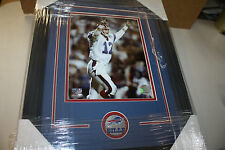 BUFFALO BILLS JIM KELLY #12 FRAMED 8X10 ACTION PHOTO HOF QB 4X AFC CHAMPS