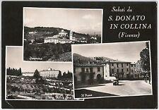 CARTOLINA d'Epoca - FIRENZE provincia - San Donato in Collina 1958