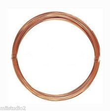 3ft 14k ROSE Gold Filled 22 gauge round beading wire craft Wrapping half hard