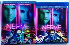 NERVE BLU RAY DVD 2 DISC SET + SLIPCOVER SLEEVE FREE WORLD WIDE SHIPPING BUY IT