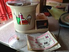 Vintage Hamilton Beach ice cream making machine