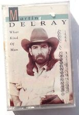 Vtg SEALED Martin Delray WHAT KIND OF MAN Cassette Atlantic Records US 1992