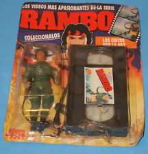 1987 JOCSA RAMBO COLONEL TRAUTMAN ACTION FIGURE MINT ON CARD