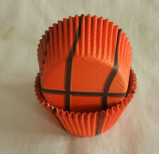 50pcs basketball Cupcake liners baking paper cup muffin case 50x33mm