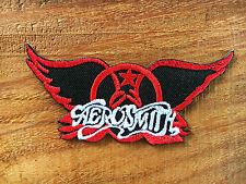 Aerosmith Hard Metal Rock Music Band Sew Iron On Embroidered Patch Applique