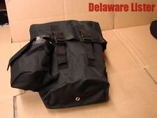 *Military Style Universal Accessory/Ammo Carry Pouch/Bag HD Black Nylon Drop Leg