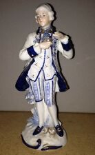 KPM Marked Figure of English Man Holding Rose One piece of the Colonial Couple
