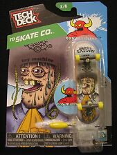 NEW! TECH DECK TD Skate Co. Johnny Layton 3/6 Finger board Display Stand