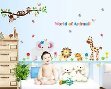 Wall Stickers Wall Decals world of animals AY9052