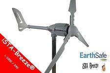 1000w/24v generador de viento, ISTA-Breeze ® i-1000 aerogenerador, turbina White