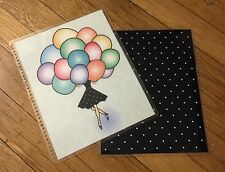 Balloons Front/Back Cover Set for use with Erin Condren Life Planner