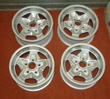 4x Porsche 944, 911 Cookie Cutter 15inch Alloy Wheels Professionally Refurbished