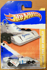 Hot Wheels Tyrrell P34 Six Wheeler 2010 New Models #R6451 New White