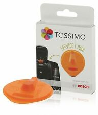 Genuine Bosch TAS4504GB Tassimo Orange Service Descaling Descaler T Disc 576837