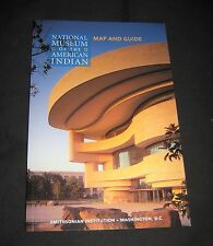 2012 National Museum of the American Indian Map & Guide Book-Smithsonian-Wash DC