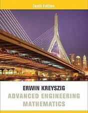 4DAYS FAST DELIVERY- Advanced Engineering Mathematics, 10th Int'l ed by Kreyszig