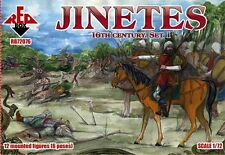 Red Box 1/72 Jinetes 16th century Set 1 # 72076