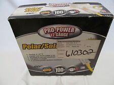 Coleman Cable 100' 12/3 Polar/Solar 12 Guage Pro Power Extension Cord EBMEZ01