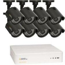 NEW Q-See 8 Channel DVR 8-720P HD Bullet Cameras 1TB Security System QTH8-8Z3-1