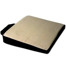 New Synthetic Leather Comfortable and Ergonomic Office Car Seat Cushion - TAN