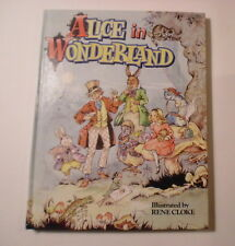Alice in Wonderland, Rene Cloke, Derrydale publisher, 1990