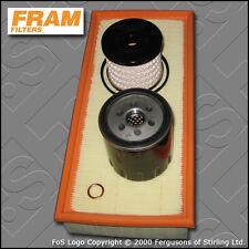 KIT di servizio FIAT SCUDO 2.0 JTD FRAM Olio Aria Carburante FILTRI TECAFILTRES (1999-2006)