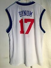 Adidas NBA Jersey 76ers Andrew Bynum White sz L