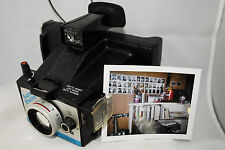 Polaroid Super Shooter instant land camera, pack film, variable focus! AA
