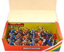 18 Britains Deetail Swop-Type Mounted Knights mint in counter pack box 7729