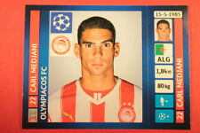 PANINI CHAMPIONS LEAGUE 2013/14 N. 191 MEDJANI OLYMPIACOS BLACK BACK MINT!