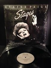 (LP) Elaine Paige -Stages / Don't Cry For Me Argentina
