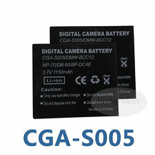 2X CGA-S005 Battery for Panasonic Lumix DMC-LX2 DMC-LX3 Sigma DP Merrill New