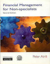 Financial Management for Non-specialists by Peter Atrill (Paperback, 1999)