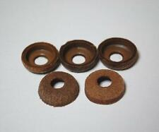 kb04c 5pcs Coleman Lantern & Stove Pump Cup Real Leather Washer