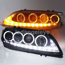 2003-2011 Year For MAZDA 6 LED Head Lamps LED Angel Eyes Front Lights JC
