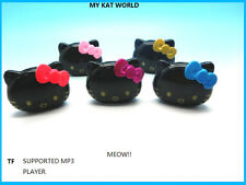 New Cute Cat  Mp3 Music Player with  TF Card Support Great Kids Xmas Gift idea