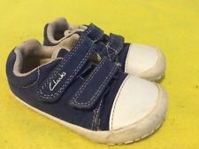 Kids clarks trainers shoes size 5f infant