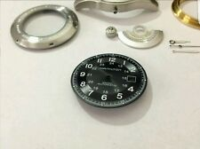BEAUTIFUL HAMILTON KHAKI LARGE CASED GENTS WATCH CASING ETC (BLACK DIAL)