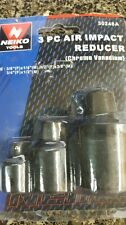 Lot of 6 Sets  3 Pc Neiko Air Impact Adapter/Reducer Sets
