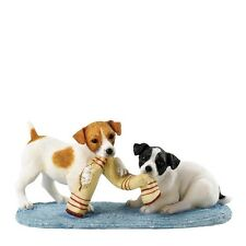 Border Fine Arts Collection Double Trouble JACK RUSSELL Dog Figurine  A26095