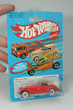 HOT WHEELS BLACKWALL MERCEDES 540K, RED, NEW IN BLISTERPACK